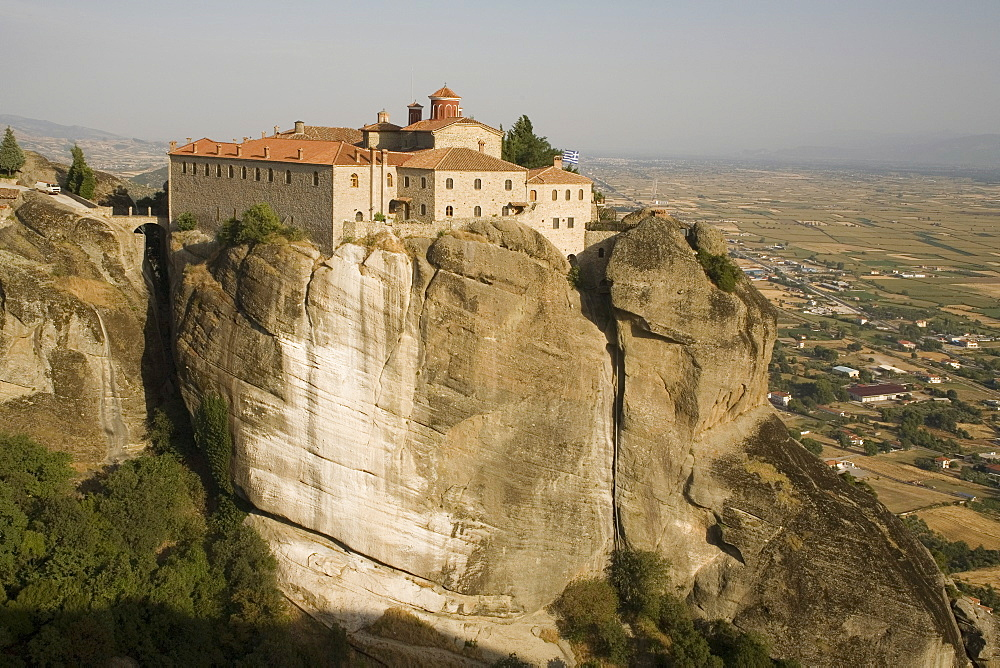 St. Stephans Nunnery, formerly a monastery, Meteora, UNESCO World Heritage Site, Thessaly, Greece, Europe