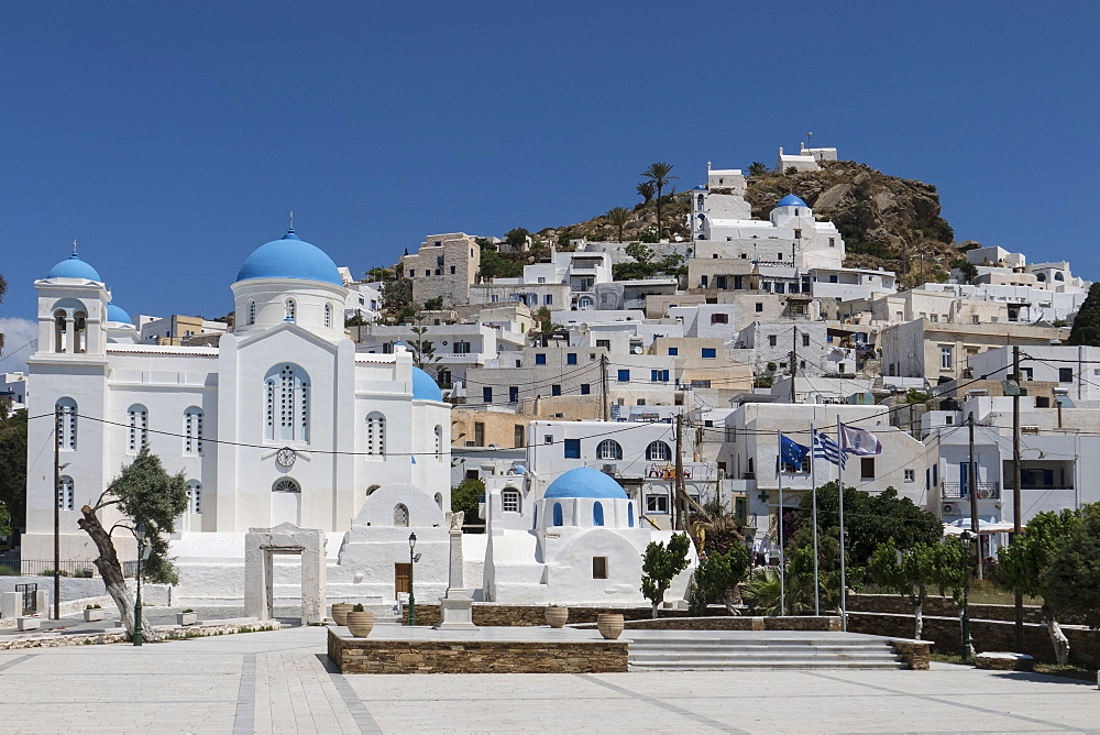 Chora, Ios, Cyclades, Greek Islands, Greece, Europe - 306-4366