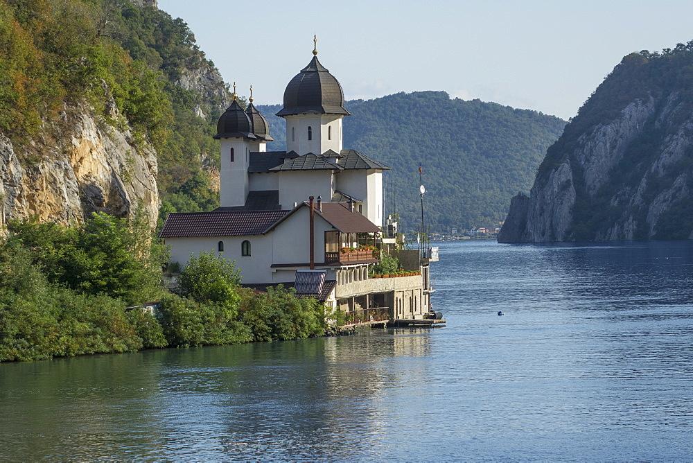 Mraconia Monastery, Danube Gorge, Romania, Europe - 306-4437