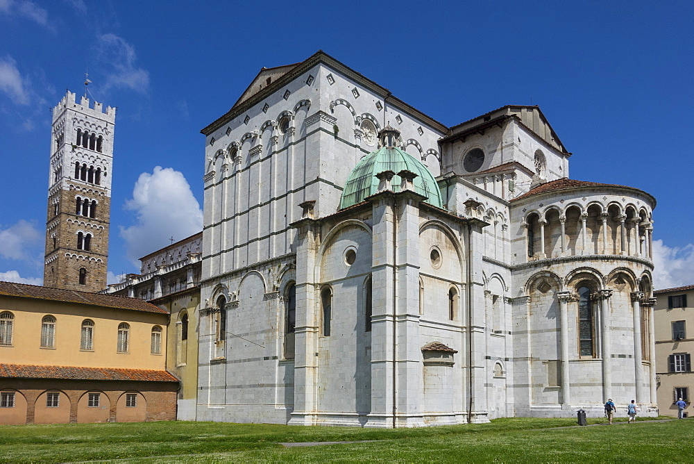 San Martino Cathedral, Lucca, Tuscany, Italy, Europe - 306-4460