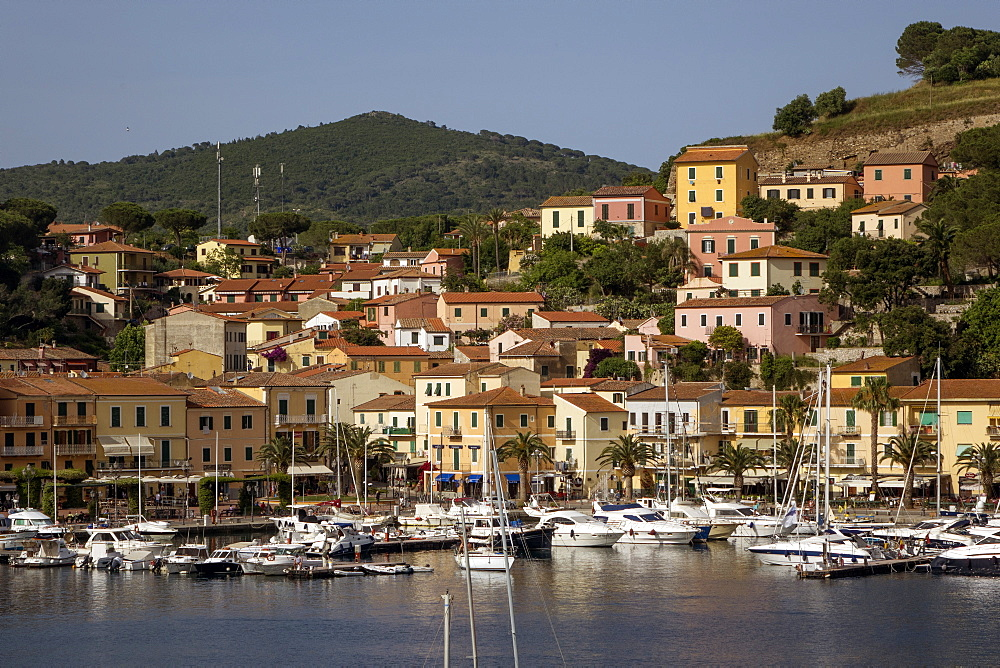 Porto Azzurro, Elba, Tuscan islands, Italy, Europe