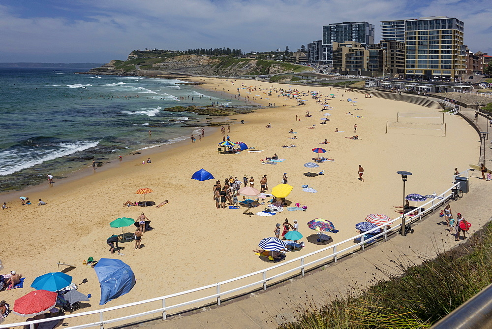 Newcastle beach, Newcastle, NSW. Australia