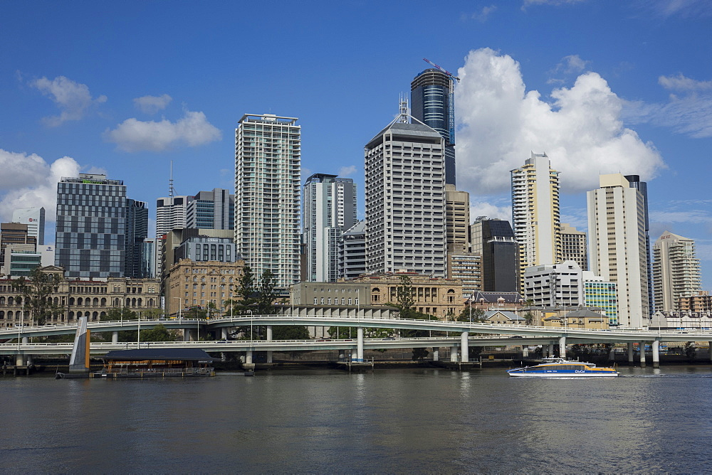 Skyline and Riverside expressway, Brisbane, Queensland, Australia, Pacific