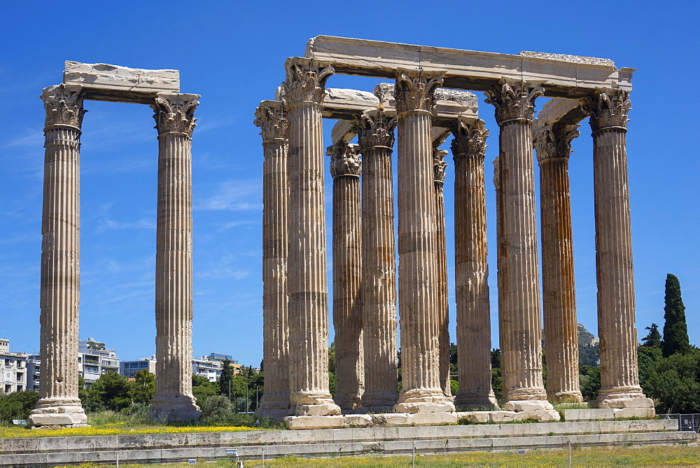 Temple of Zeus, Athens, Greece, Europe - 306-4484