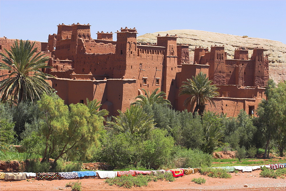 Kashbah Ait Benhaddou, UNESCO World Heritage Site, Draa Valley, Ouarzazate, Morocco, North Africa, Africa