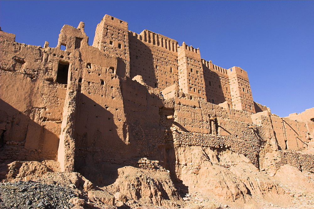 Tamnougalt Kasbah, Draa Valley, Ouarzazate, Morocco, North Africa, Africa