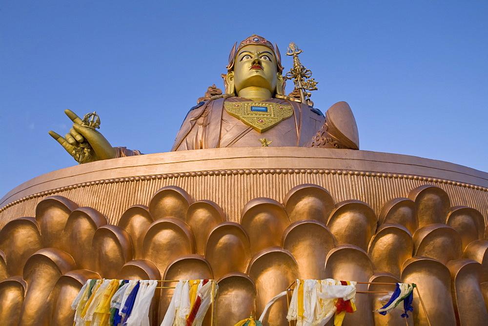 Padmasambhava statue, Samdruptse, Namchi, Sikkim, India, Asia