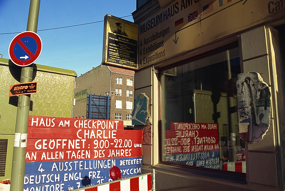 Checkpoint Charlie Museum, Berlin, Germany, Europe - 322-4905