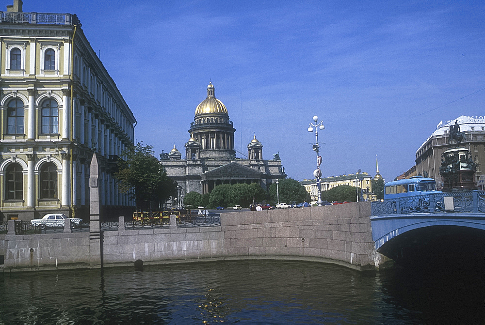 St Isaacs Cathedral, St Petersburg, Russia *** Local Caption ***