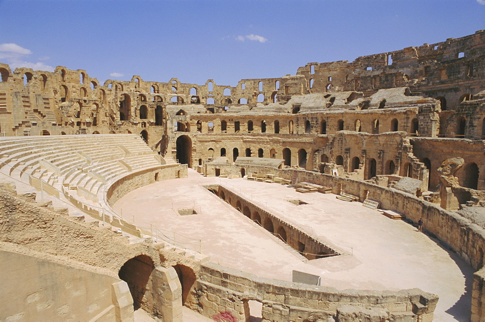Roman amphitheatre of El Djem, Tunisia, North Africa