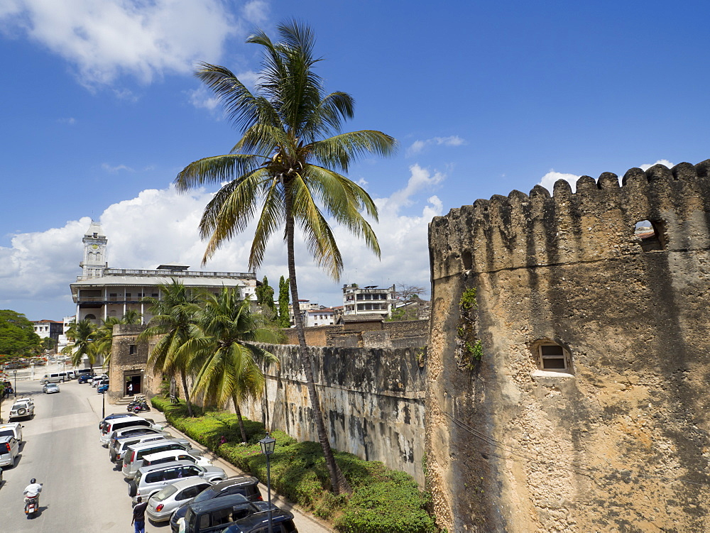 Fort and House of Wonders, Stone Town, Zanzibar, Tanzania, East Africa, Africa - 367-6036