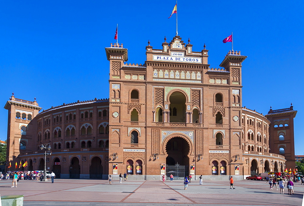Plaza de Toros (bullring), Madrid, Spain, Europe