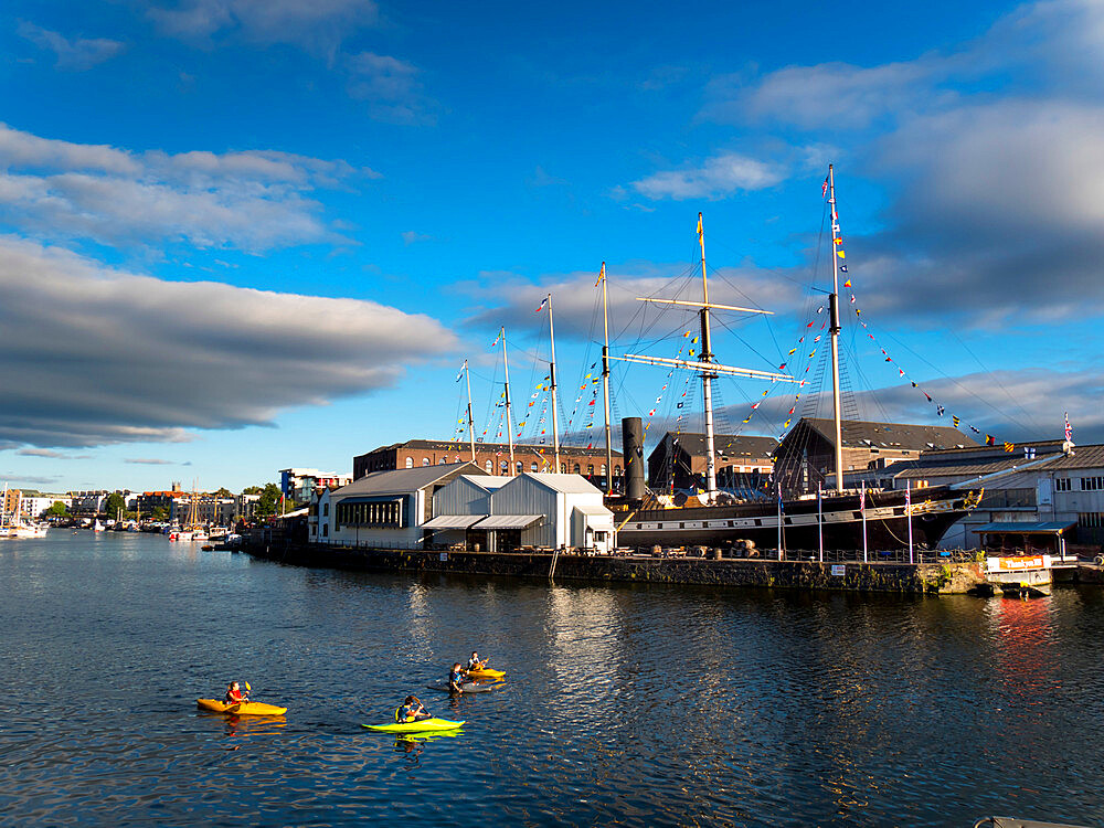 SS Great Britain in Bristol floating harbour - 367-6324