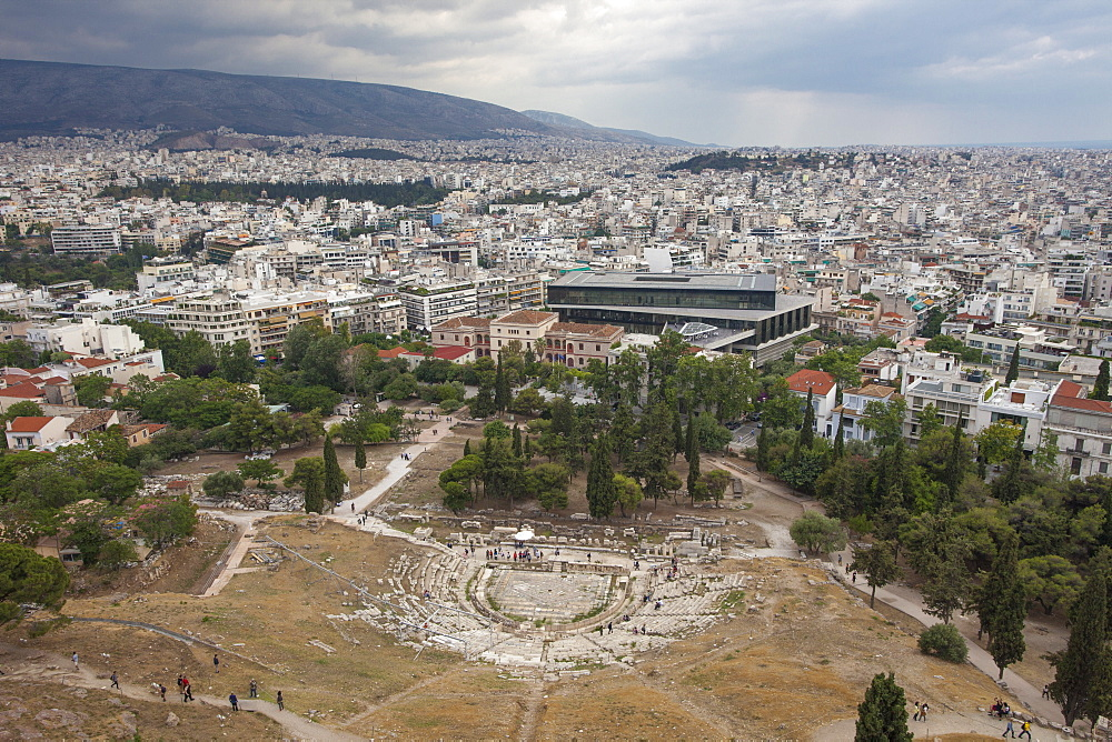UNESCO World Heritage Site_Acropolis_Theatre of Dionysus Eleuthereus - 385-1739