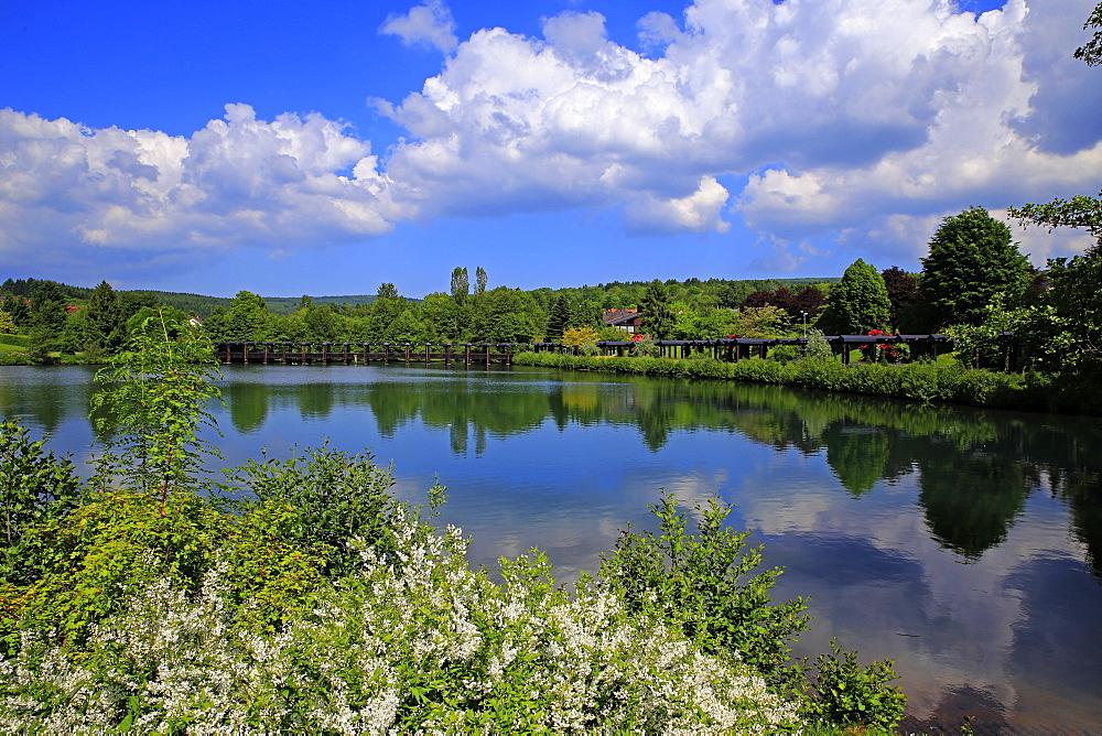 Spa Gardens of Weiskirchen, Saarland, Germany