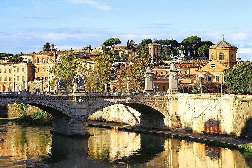 Tiber River, Rome, Latium, Italy