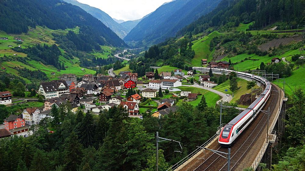Wassen, Gotthard, Canton of Uri, Swirtzerland, Europe