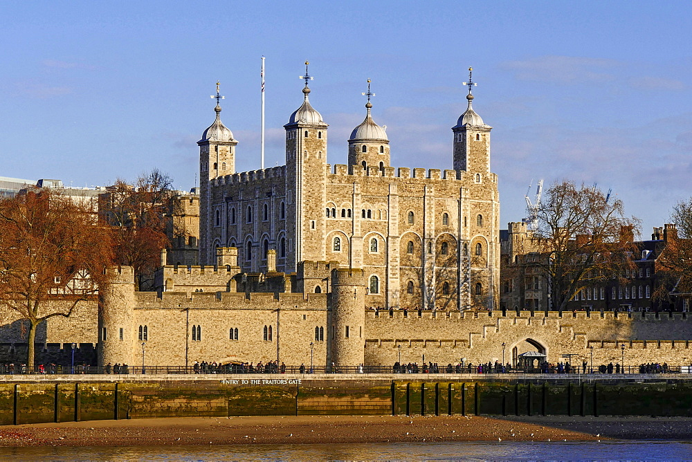 Tower of London, UNESCO World Heritage Site, London, England, United Kingdom, Europe
