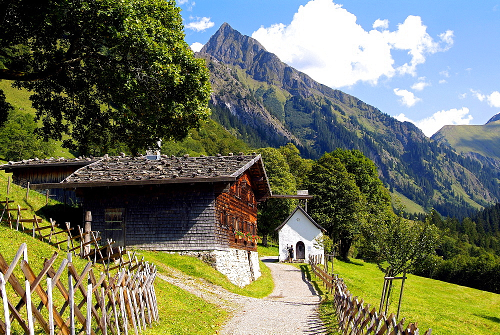 Gerstruben near Oberstdorf, Allgau, Bavaria, Germany, Europe