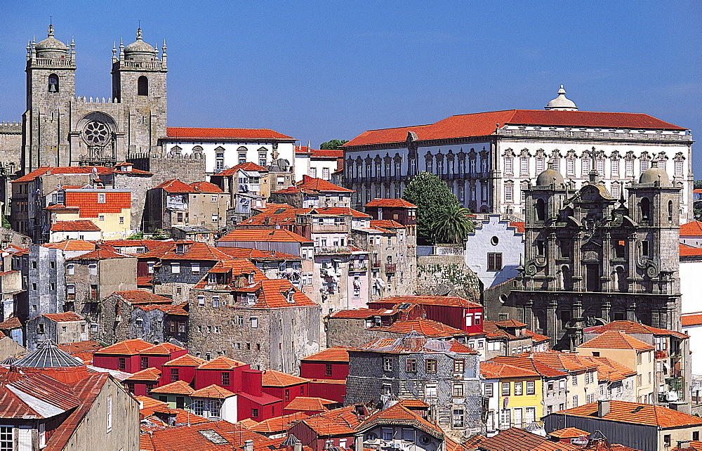 Bishop's Palace and City Cathedral, Porto, Portugal - 397-1700