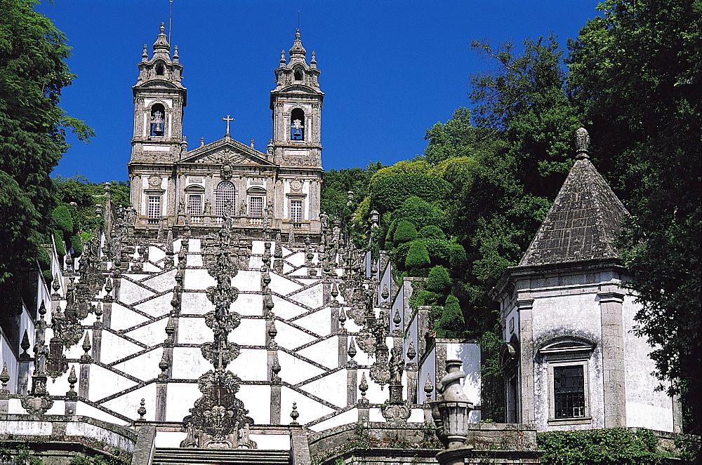 Santuario Do Bom Jesus Do Monte, Braga, Portugal - 397-1865