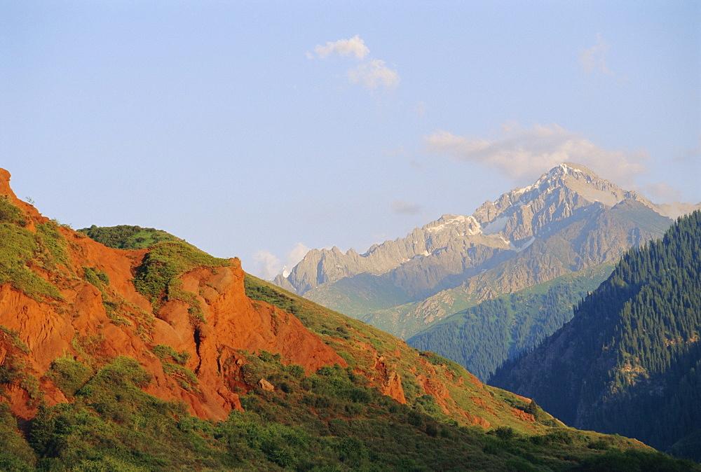 Near Kara-Kol, Dzhety-Oguz, Kyrgyzstan, Central Asia
