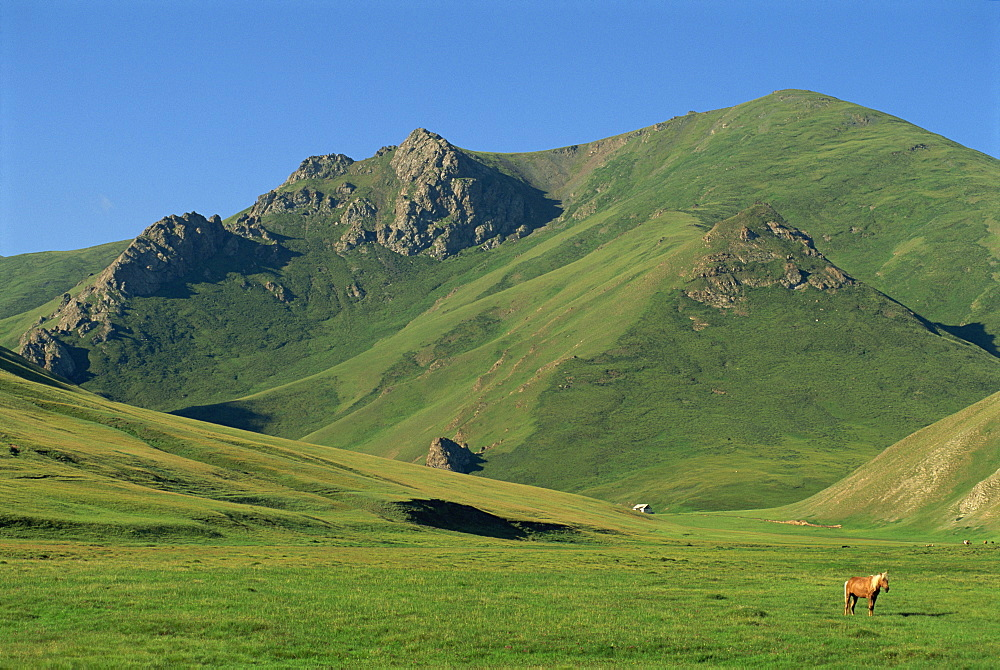 Tash Rabat At Bashi Range, Tien Shan, south of Naryn, Kyrgyzstan, Central Asia, Asia