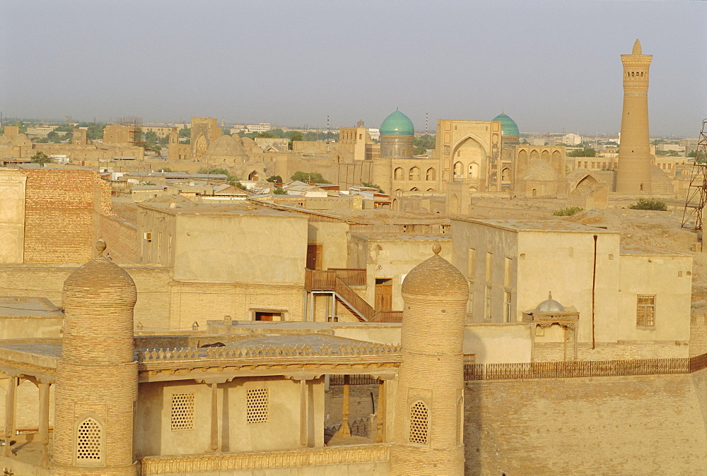 Bukhara, view beyond Ruler's Fort, Uzbekistan, Central Asia