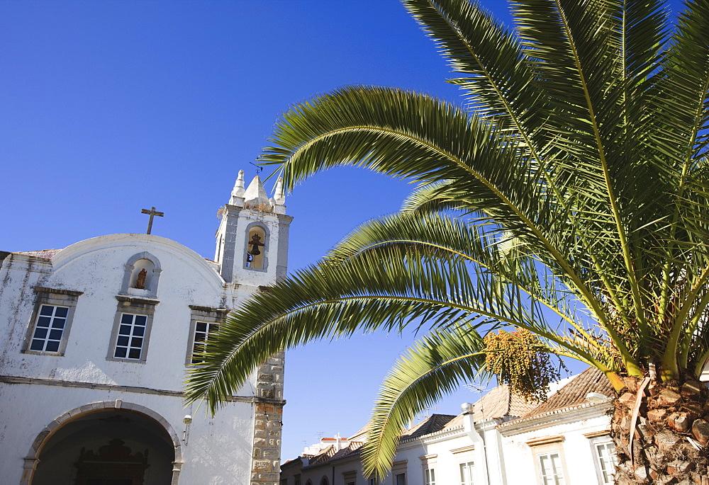 Church, Tavira, Algarve, Portugal, Europe