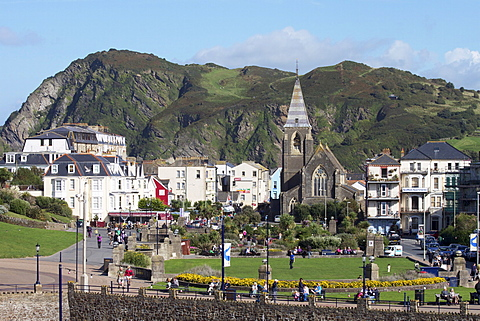 Town centre, Ilfracombe, Devon, England, United Kingdom, Europe