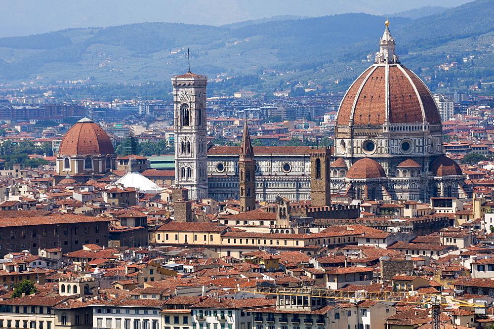 Cattedrale di Santa Maria del Fiore (Duomo), Florence, UNESCO World Heritage Site, Tuscany, Italy, Europe