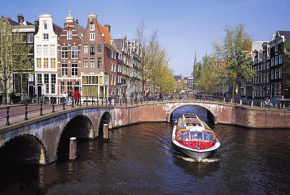 Keizersgracht Canal, Amsterdam, Netherlands