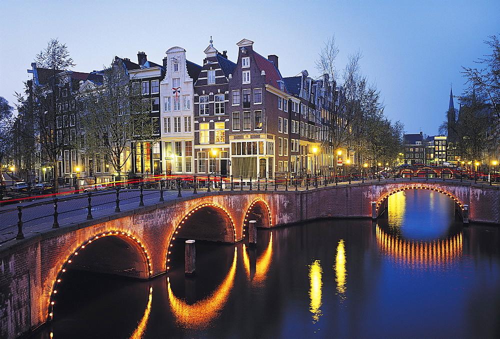 Keizersgracht Canal, Amsterdam, Holland