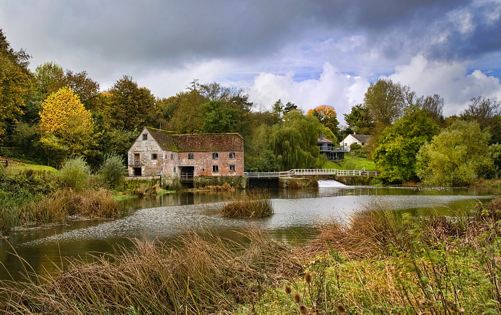 Sturminster Newton Mill and River Stour, Dorset, England, United Kingdom, Europe - 485-9663