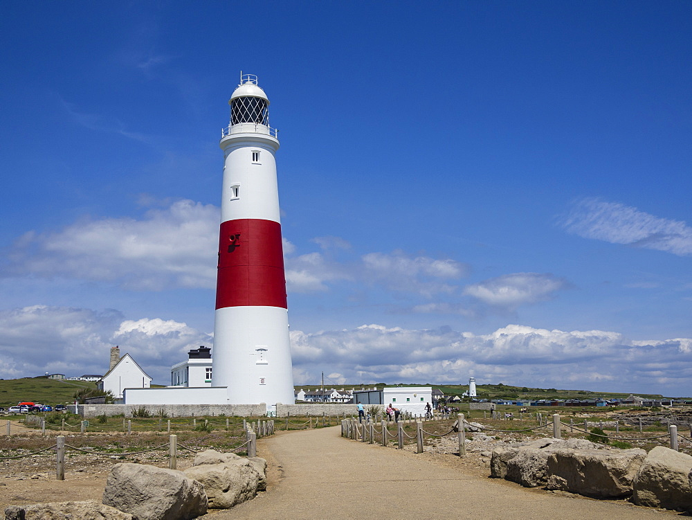 Portland Bill Lighthouse, Isle of Portland, Jurassic Coast, UNESCO World Heritage Site, Dorset, England, United Kingdom, Europe - 485-9693