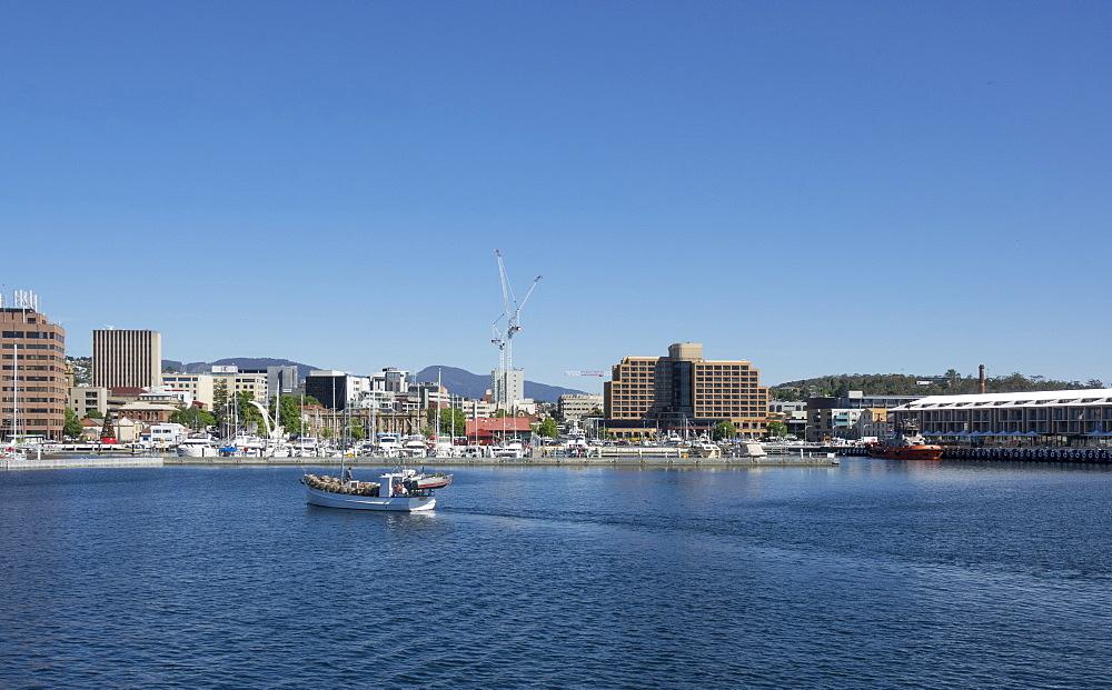 Waterfront, Hobart, Tasmania, Australia, Pacific - 489-1748
