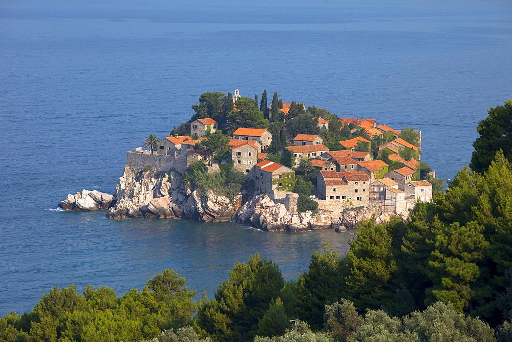 St. Stefan near Budva, Montenegro, Europe