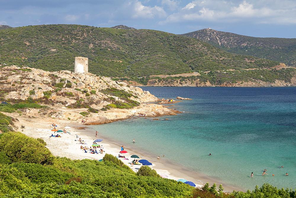 Costa del Sud, near Chia, Cagliari Province, Sardinia, Italy, Mediterranean, Europe - 526-3797