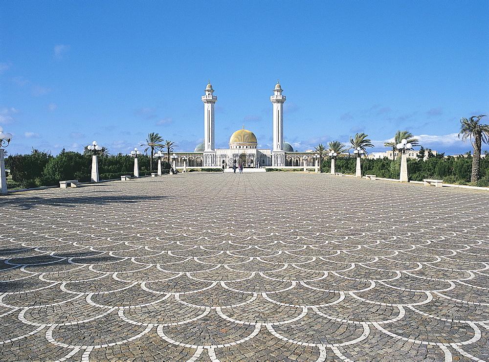 Bourguiba Mausoleum, Monastir, Tunisia - 59-3490