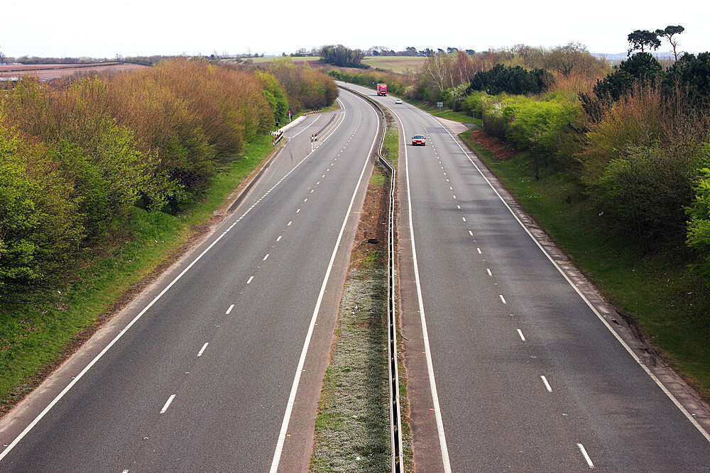 Quiet Motorway, United Kingdom, Europe - 64-1399