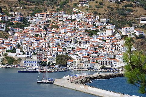 Skopelos Town, Skopelos, Sporades Islands, Greek Islands, Greece, Europe - 641-11390