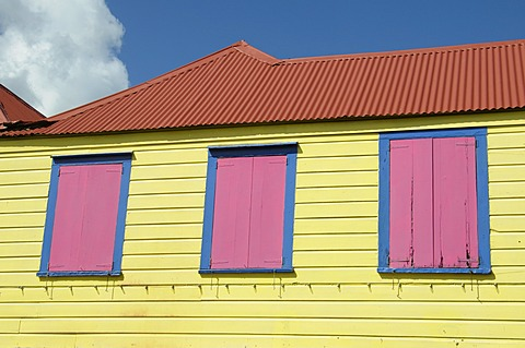 St. Johns, Antigua, Leeward Islands, West Indies, Caribbean, Central America - 641-12931