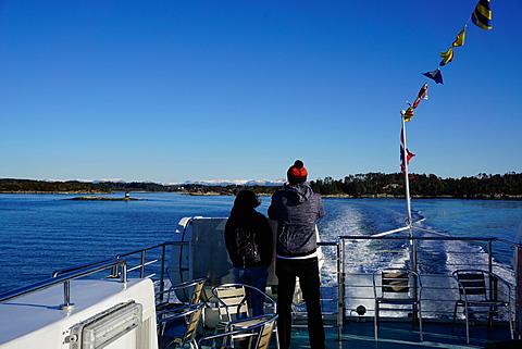 Fjord near Bergen, Hordaland, Norway, Scandinavia, Europe
