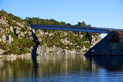 Fjord near Bergen, Hordaland, Norway, Scandinavia, Europe - 641-13284