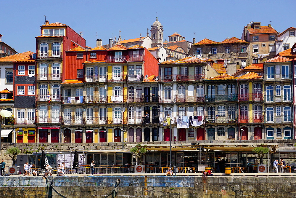 Ribeira district, UNESCO World Heritage Site, Porto (Oporto), Portugal, Europe - 641-13400