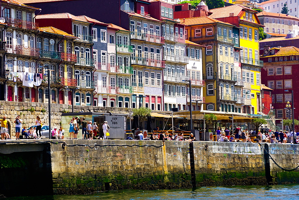Ribeira District, UNESCO World Heritage Site, Porto (Oporto), Portugal, Europe - 641-13403