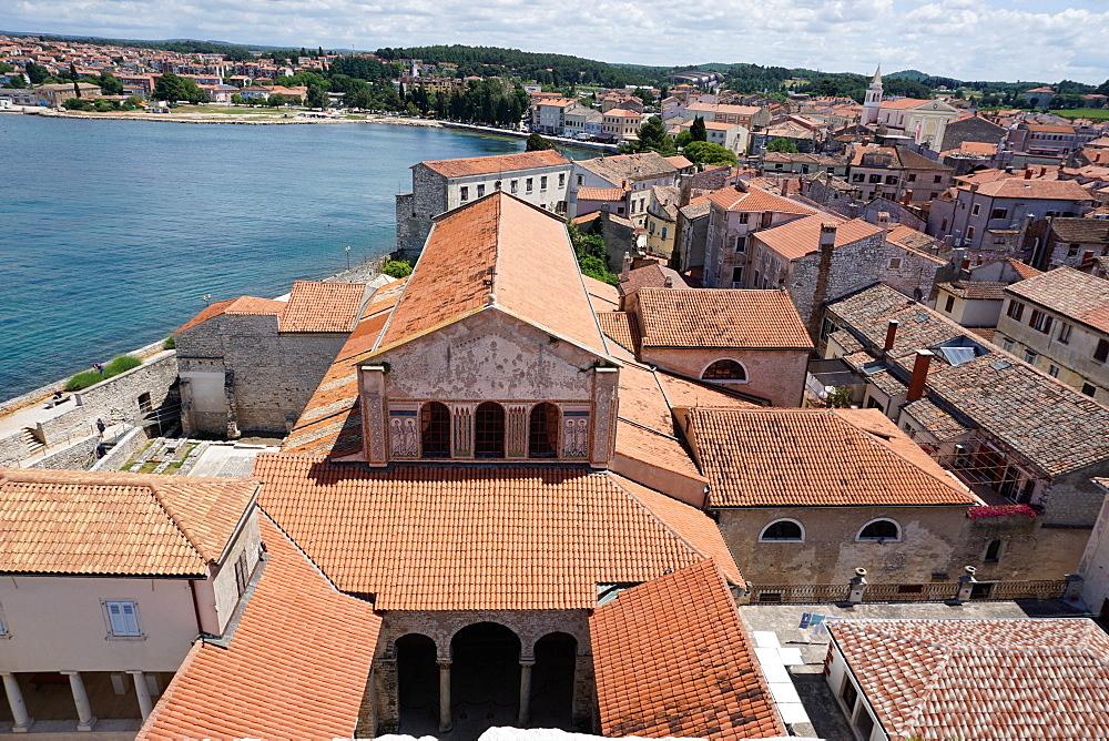 Euphrasian Basilica, UNESCO World Heritage Site, Porec, Istra Peninsula, Croatia, Europe - 641-13439