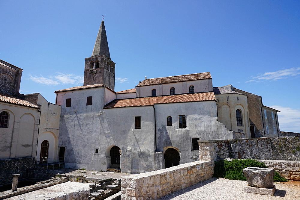 Euphrasian Basilica, UNESCO World Heritage Site, Porec, Istra Peninsula, Croatia, Europe - 641-13440