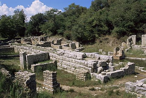 Archaeological site, Butrinti, UNESCO World Heritage Site, Albania, Europe