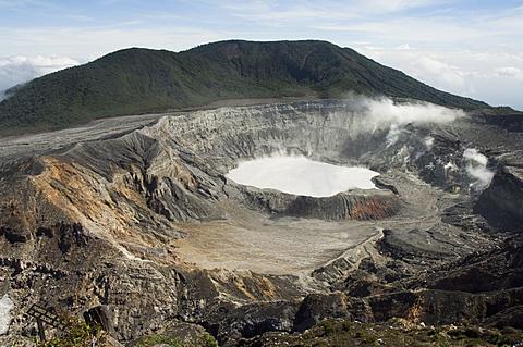 Poas Volcano, Poas National Park, Costa Rica